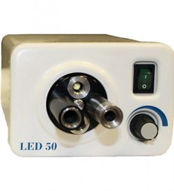 50 Watt LED Light Source with 4-port turret